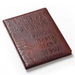 イタリア製の本革ノートパッド
