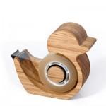 木製アヒルのテープカッター