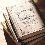 アンティーク調のA6サイズノートブック