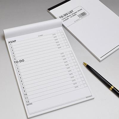 A5サイズ のTO-DO リスト メモノート