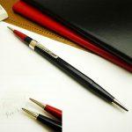 2色使えるアメリカ製シャープペン