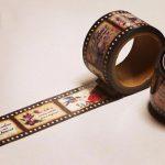 マスキングテープ セピアのネガフィルム