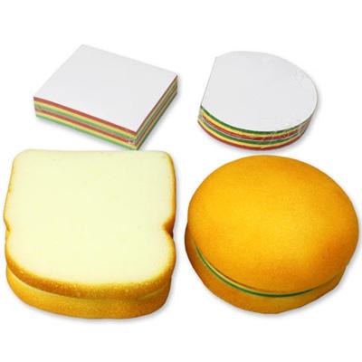 ハンバーガーとサンドイッチのメモパッド