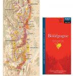フランス製ワインマップ ブルゴーニュ