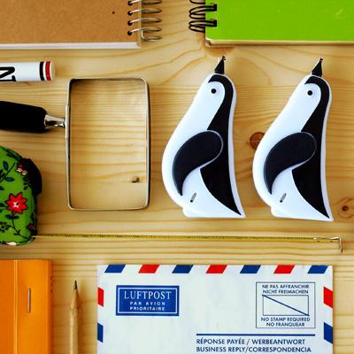 ペンギン型 修正テープ
