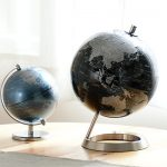 時差表示盤付き 地球儀
